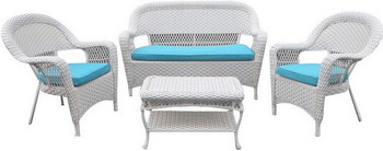 Комплект мебели Афина LV 130 White/Blue