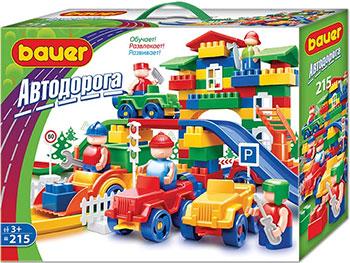 Конструктор Bauer Автодорога 215 элементов 250 b конструктор bauer автодорога 248 136 элементов