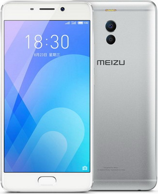 Смартфон Meizu M6 Note 32 GB серебристо-белый смартфон meizu m6 note m721h 32gb