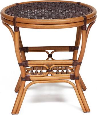 Стол малый Tetchair Pelangi темный мед 12510 стол малый tetchair pelangi орех 12511
