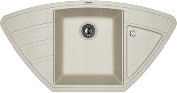 Кухонная мойка Florentina Липси-980 С 980х510 грей FSm искусственный камень мойка florentina нире 480 грей