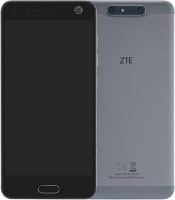 Смартфон ZTE Blade V8 серый v8 bluetooth smart watch 1 22 inch ips screen fitness pedometer support sim tf card