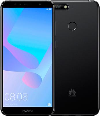 Мобильный телефон Huawei Y6 Prime (2018) черный q98 waterproof smart watch mtk6580 support sim sd card bluetooth wifi gps sms camera watches cell phone bracelet for android ios