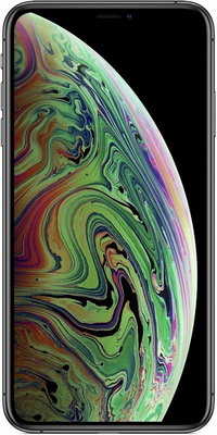 Мобильный телефон Apple iPhone Xs Max 64 GB Space Grey (MT 502 RU/A) apple iphone 6 silver 64 gb mg4h2ru a