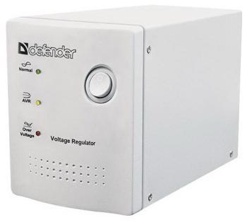 Стабилизатор напряжения и сетевой фильтр Defender AVR Real 600 VA