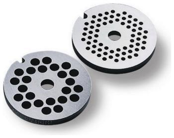 Формовочные диски для мяса Bosch MUZ 45 LS1 аксессуар для техники по подготовке и обработке продуктов bosch muz 5 vl1