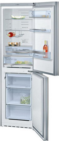 Двухкамерный холодильник Bosch KGN 39 SQ 10 R двухкамерный холодильник don r 295 b