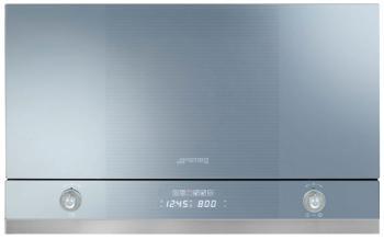 Встраиваемая микроволновая печь СВЧ Smeg MP 122 встраиваемая микроволновая печь свч maunfeld mbmo 20 2pgb