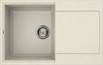 Кухонная мойка Elleci EASY 300  granitek (62) Bianco Antico LGY 30062