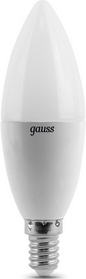 Лампа GAUSS LED Candle E 14 6.5W 2700 K 103101107