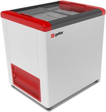 Морозильный ларь Gellar FG 200 C красный морозильный ларь бирюса б 260к