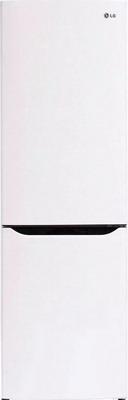 Двухкамерный холодильник LG GA-B 389 SQCZ холодильник с морозильной камерой lg ga b409uqda