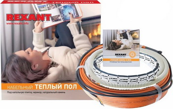 Теплый пол REXANT RND-160-2400 теплый пол теплолюкс profimat160 10 0