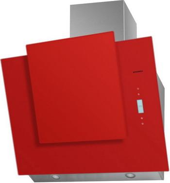 Вытяжка со стеклом MAUNFELD ENVER 80 Красное стекло вытяжка со стеклом maunfeld tower cs 50 нержавейка черное стекло