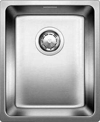 Кухонная мойка BLANCO ANDANO 340-U нерж.сталь полированная без клапана-автомата кухонная мойка blanco andano xl 6 s if compact