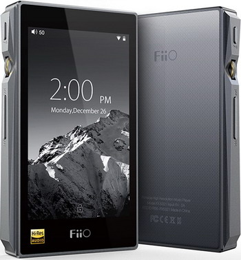 MP3 плеер FiiO Hi-Fi X5 III черный original onn x5 hifi audio player mp3 dac player with 2 screen 8gb lettore with fm support ape flac alac wav wma ogg mp3