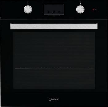 Встраиваемый электрический духовой шкаф Indesit IFW 65 Y0 J BL электрический духовой шкаф indesit ifw 6530 wh white