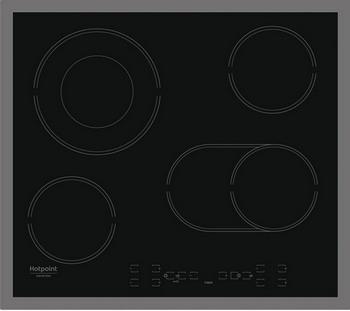 Встраиваемая электрическая варочная панель Hotpoint-Ariston HAR 642 DO X hotpoint ariston hhbs 6 7f ll x