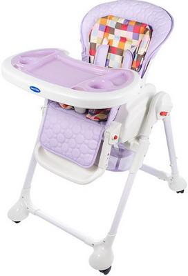 Стульчик для кормления Sweet Baby Luxor Multicolor Lilla стульчик для кормления sweet baby simple orange 388 133