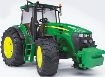 Трактор John Deere 7930 Bruder 03-050 машины tomy john deere трактор monster treads с большими колесами и вибрацией