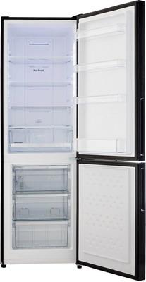 Двухкамерный холодильник Panasonic NR-BN 30 PGB-E черный купить б у panasonic cf 30
