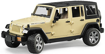 Внедорожник Bruder Jeep Wrangler Unlimited Rubicon 02-525 bruder внедорожник jeep wrangler unlimited rubicon цвет бордовый