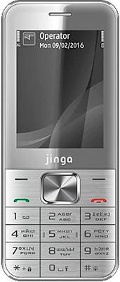 Мобильный телефон Jinga PB 100 Серебристый мобильный телефон elari cardphone white