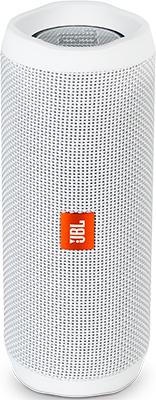 Портативная акустическая система JBL JBLFLIP4WHT беспроводная акустика jbl flip 4 white jblflip4wht