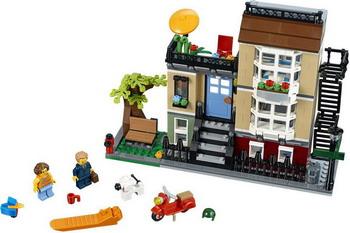 Конструктор Lego CREATOR Домик в пригороде 31065 lego lego creator 31031 животные джунглей