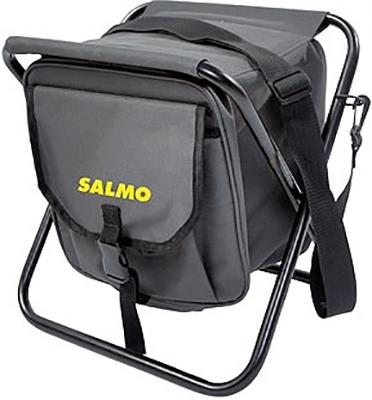 Стул-сумка Salmo UNDER PACK с ремнём и карманом экстрактор рыболовный salmo 23 см с пружиной 9606 009
