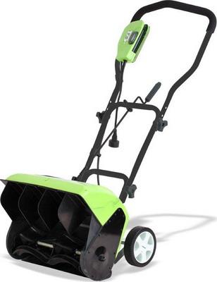 Снегоуборочная машина Greenworks GES 10 1200 W 26037 сменный нож greenworks 40 см