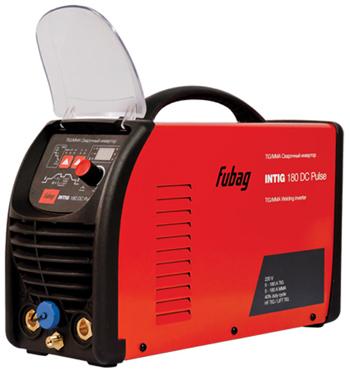 Сварочный аппарат FUBAG INTIG 180 DC Pulse + маска сварщика Fubag Optima 9-13 цена