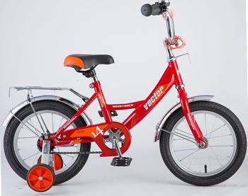 Велосипед Novatrack 143 VECTOR.RD8 14'' Vector красный novatrack novatrack детский велосипед urban 14 красный
