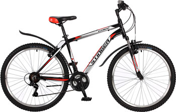 Велосипед Stinger 26'' Element 18'' черный 26 AHV.ELEM.18 BK7 велосипед stinger element 26 2017 рама 18 белый