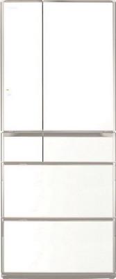 Многокамерный холодильник Hitachi R-G 630 GU XW белый кристалл многокамерный холодильник hitachi r sf 48 gu sn stainless champagne