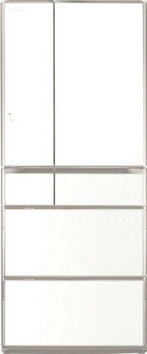 Многокамерный холодильник Hitachi R-G 630 GU XW белый кристалл многокамерный холодильник hitachi r sf 48 gu t светло бежевый