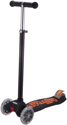 Самокат Sweet Baby 4-х колесный Avanti Black samsonite чемодан 4 х колесный pro dlx 5