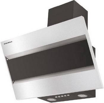 цена на Вытяжка MAUNFELD BRIDGE 60 INOX Glass Black (нержавейка/черное стекло) УТ000009028