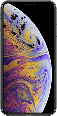 Смартфон Apple iPhone Xs Max 64 GB серебристый (MT 512 RU/A) телефон apple iphone 7 128gb a1778 черный матовый ru a
