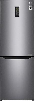 Двухкамерный холодильник LG GA-B 379 SLUL Темный графит трия шкаф нижний с планками для формирования угла графит темный н 72 90 1дрпу