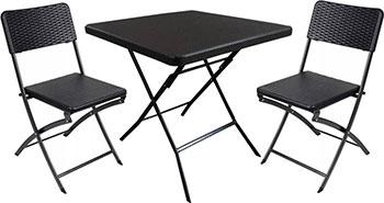 Комплект мебели GoGarden NAPOLI складной (стол и 2 стула) 50366