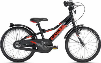 Велосипед Puky ZLX 18-3 Alu 4400 black чёрный puky puky велосипед 2 х колесный crusader 24 3 alu light black 24 черный