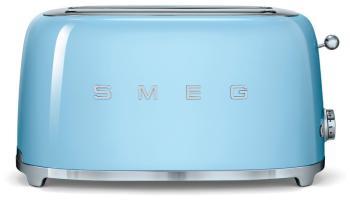Тостер Smeg TSF 02 PBEU голубой тостер smeg tsf 02 creu кремовый