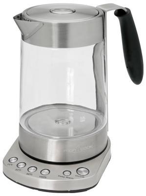 Чайник электрический Profi Cook PC-WKS 1020 G электрический чайник profi cook pc wks 1020 g