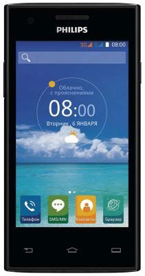 Мобильный телефон Philips S 309 черный мобильный телефон philips e168 черный