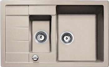 Кухонная мойка Teka ASTRAL 60 B-TG Sandbeige кухонная вытяжка teka dvt 680 b black