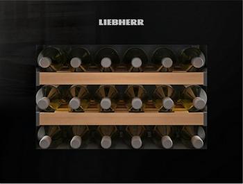 Встраиваемый винный шкаф Liebherr WKEgb 582 встраиваемый винный шкаф liebherr uwt 1682