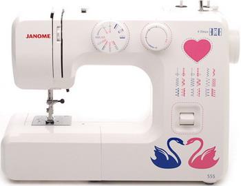 Швейная машина JANOME 555 швейная машинка janome sew mini deluxe