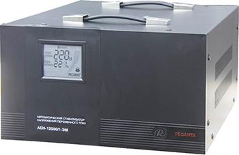 Стабилизатор напряжения Ресанта ACH - 12 000/1 - ЭМ стабилизатор напряжения ресанта ach 3000 3 эм