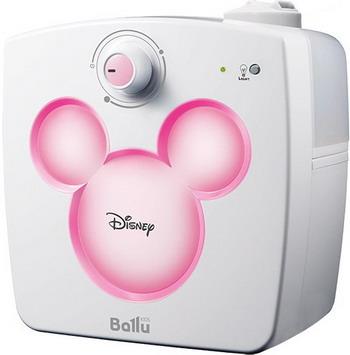 Увлажнитель воздуха Ballu UHB-240 Disney розовый ballu uhb 240 disney yellow ультразвуковой увлажнитель воздуха
